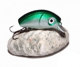 BUG MINNOW 33SRg SilverGreen