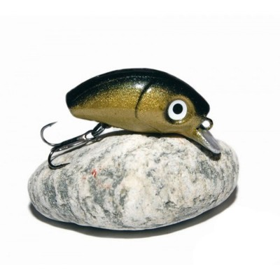 BUG MINNOW 33SRg GoldBlack