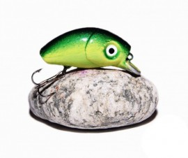 BUG MINNOW 33SRg GreenAcid